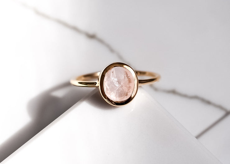 Jolene III Morganite Ring
