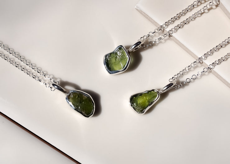 Tara <br> Peridot Necklace