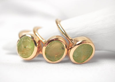 Green Detox II Peridot Ring