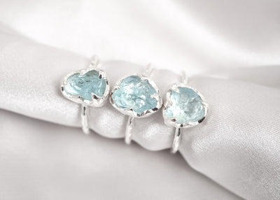 Khione Sky Blue Topaz Ring