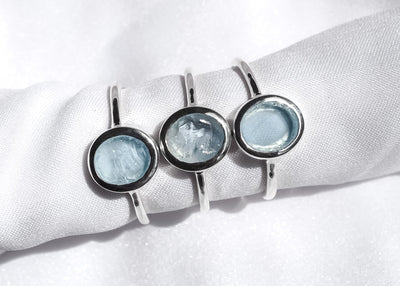 Ellie Sky Blue Topaz Ring