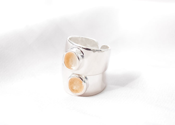Rich Gal IV Citrine Ring