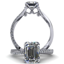 Meagan - Emerald Cut