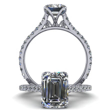 Samantha - Emerald Cut