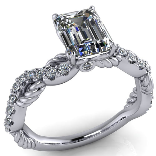 Elizabeth - Emerald Cut