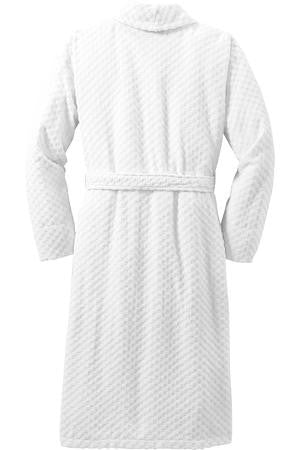 Port Authority® Checkered Terry Cloth Robe