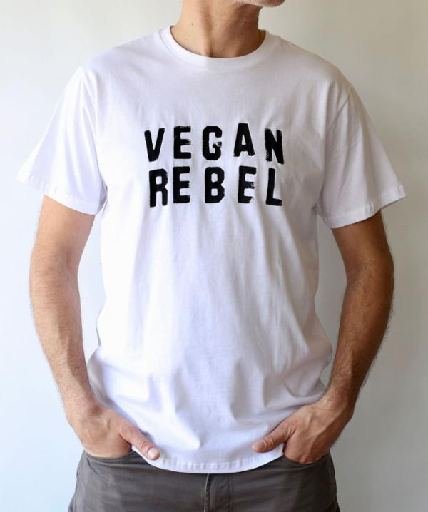 Vegan Rebel Unisex T-shirt