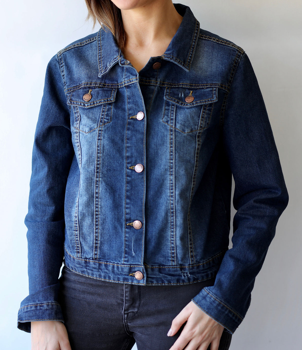 Vegan Club Jean Jacket