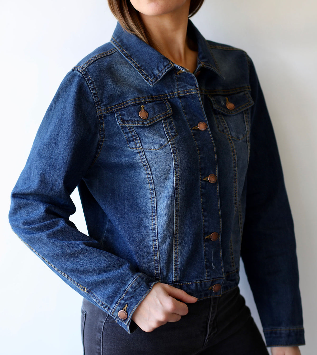 Vegan Rebel Jean Jacket