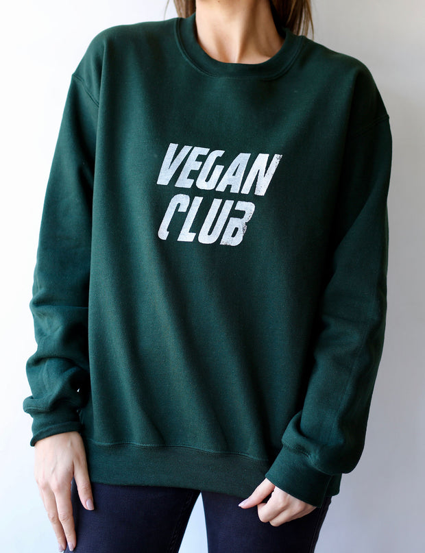 Vegan Club Unisex Sweatshirt