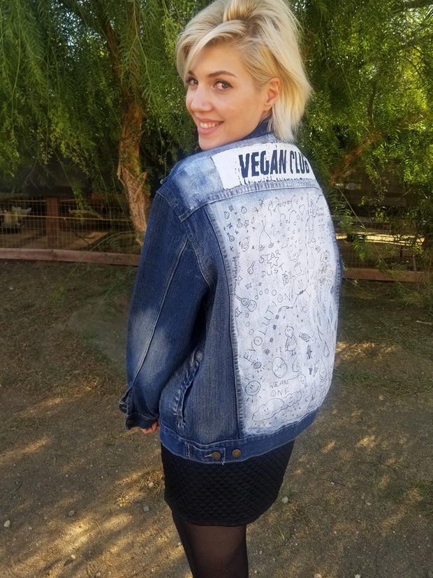 Your Custom Vegan Club Jean Jacket