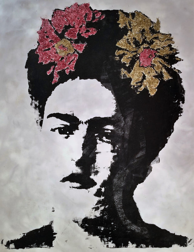 60x48 Original Artwork Viva Frida!