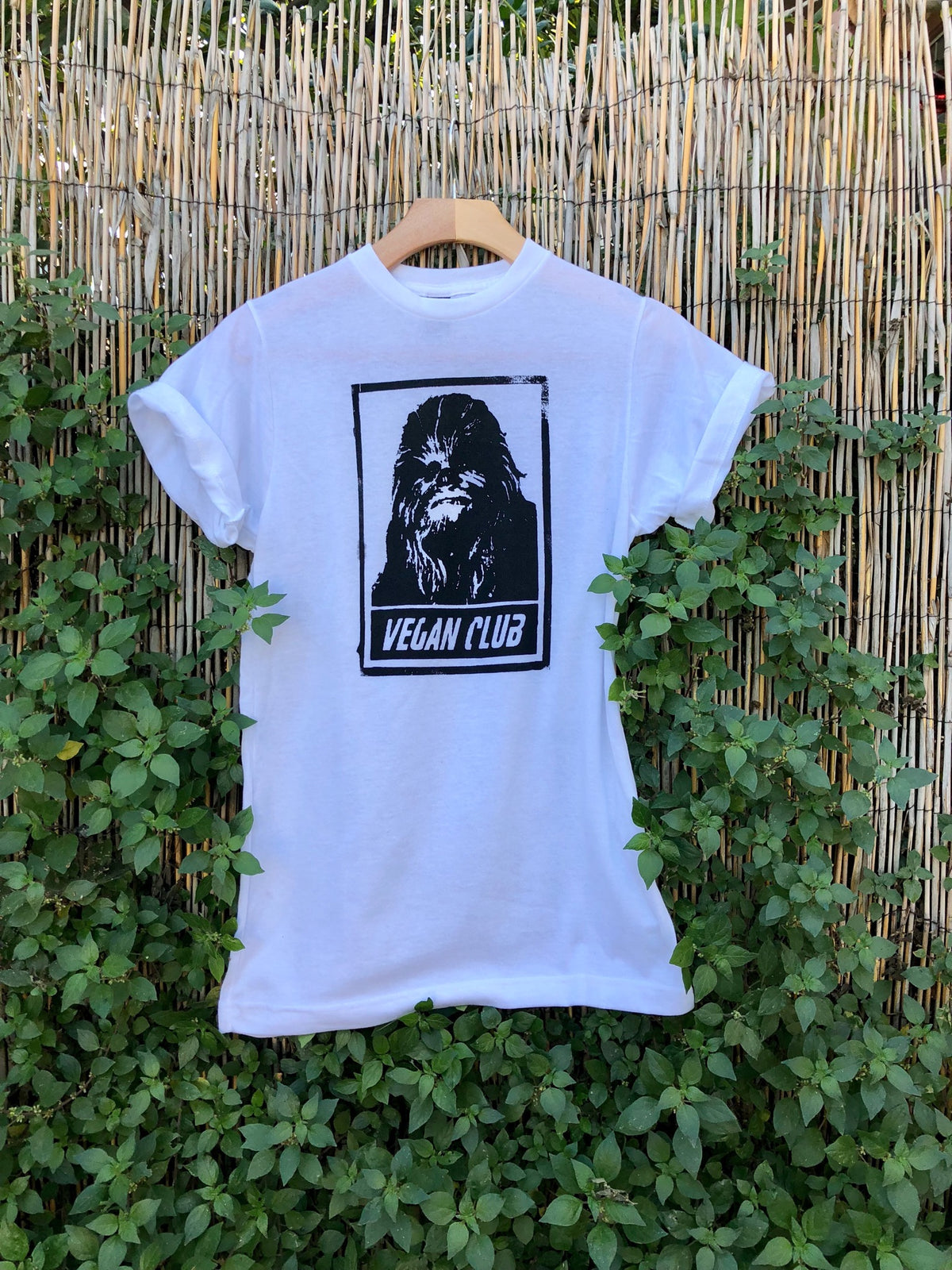 Chewbacca Vegan Club T-shirt