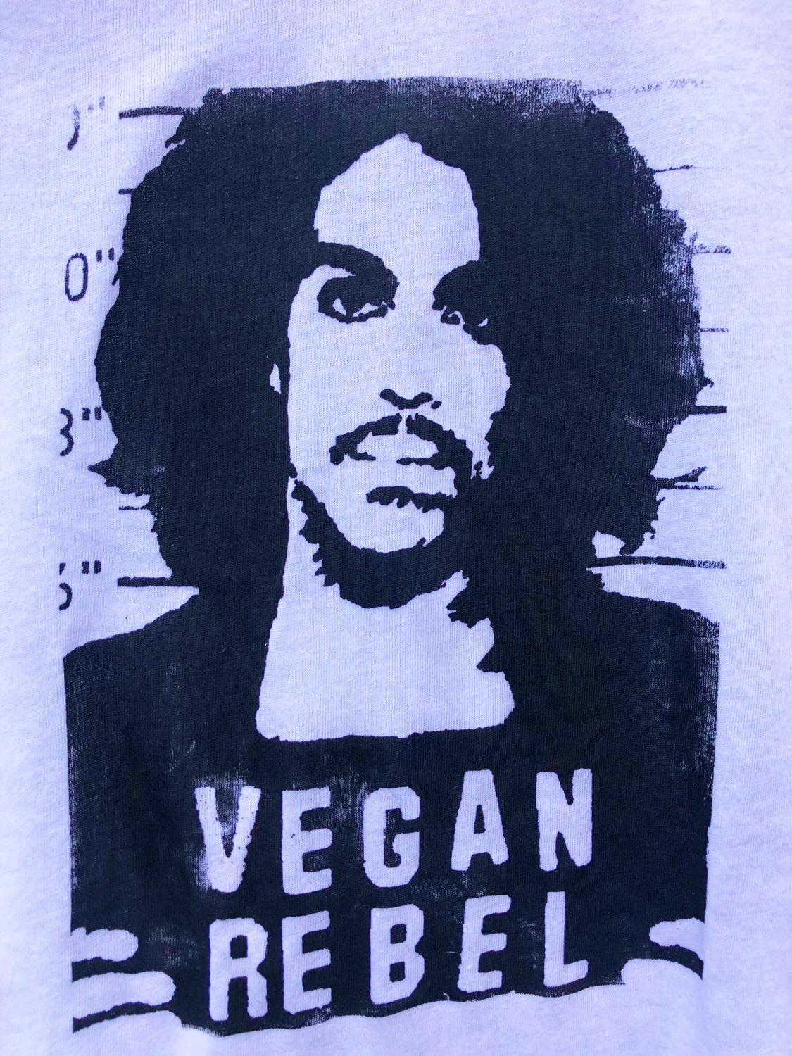 Prince Vegan Rebel Mug Shot T-shirt