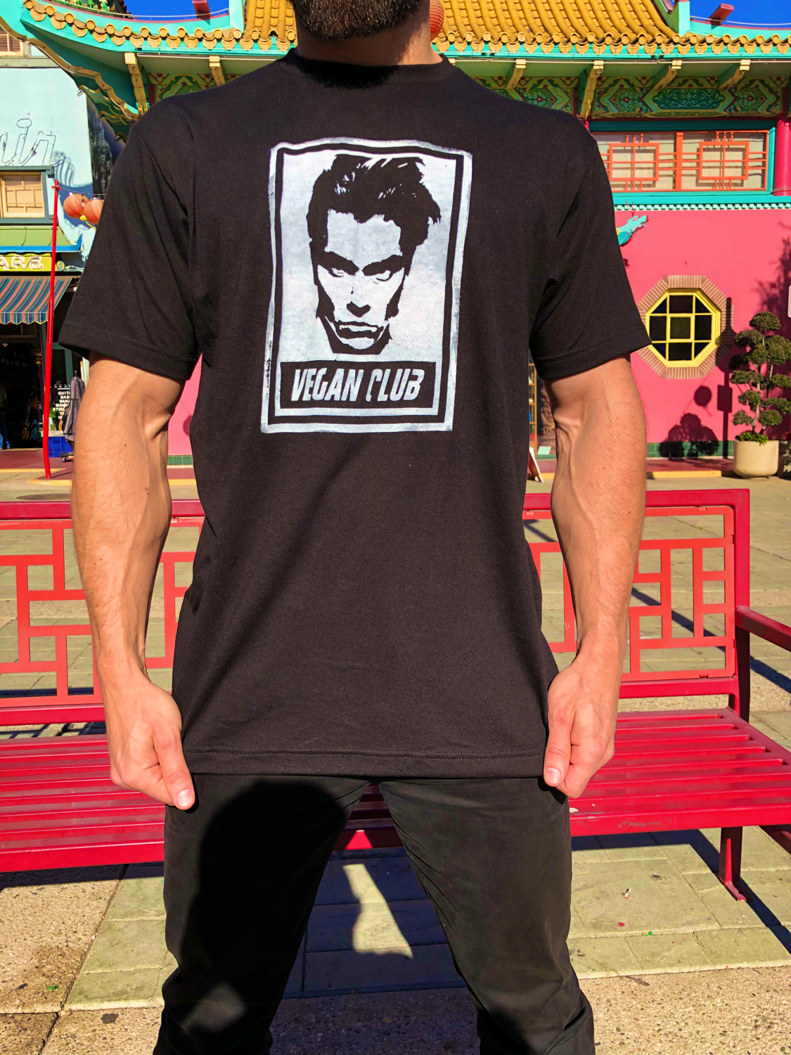 River Phoenix Vegan Club T-shirt