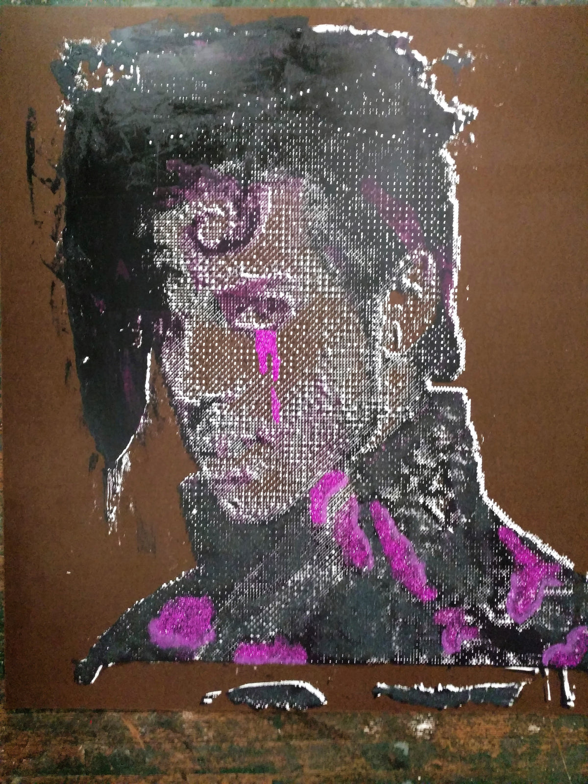 "48x48 Original Artwork Prince ""Purple Rain"" by L3F0u"