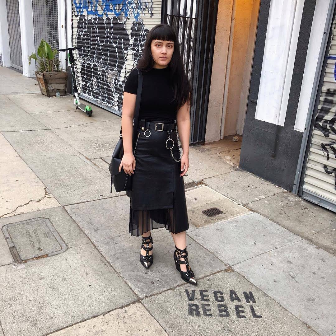 Vegan Rebel Street Stencil