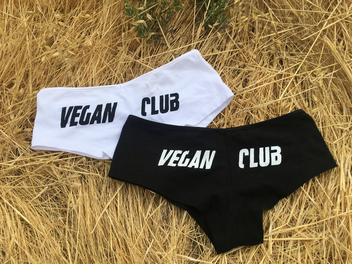 Booty Shorts Vegan Club