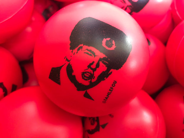 Limited Edition Stress Ball featuring our Russian friendly President Trump art by Le Fou
