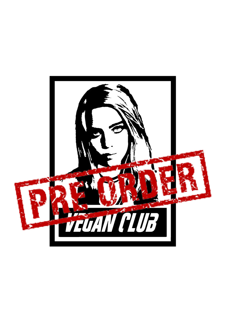 Billie Eilish Vegan Club T-shirt