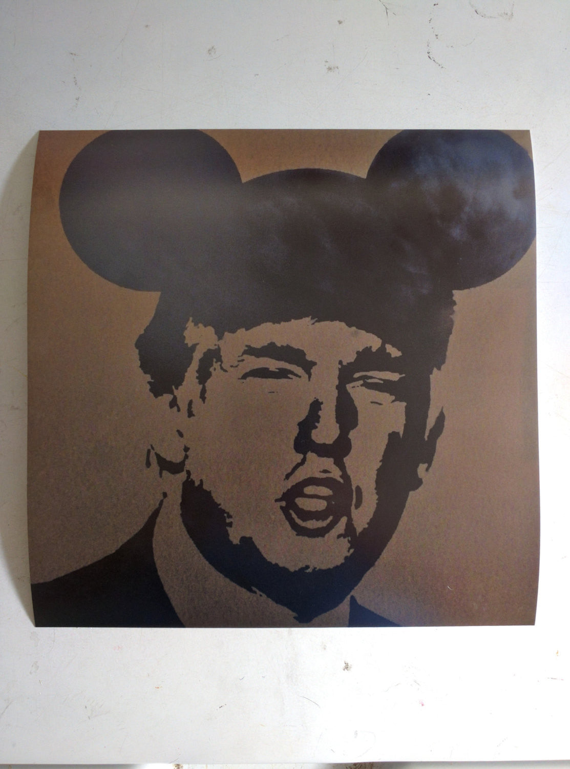 Operation Mickey Mouse Donald Trump Ltd. Print