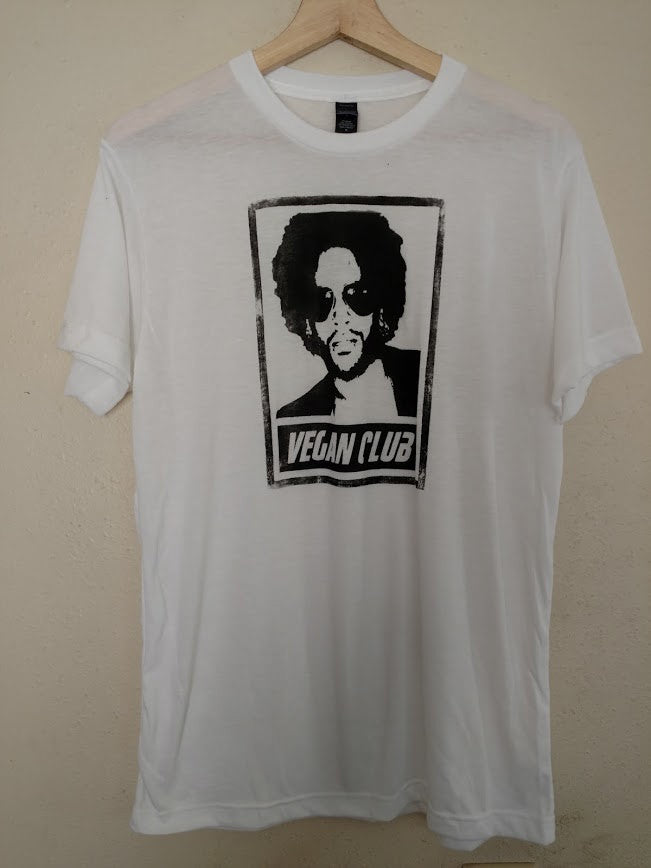 "Organic Made in USA T-shirt ""Vegan Club"""