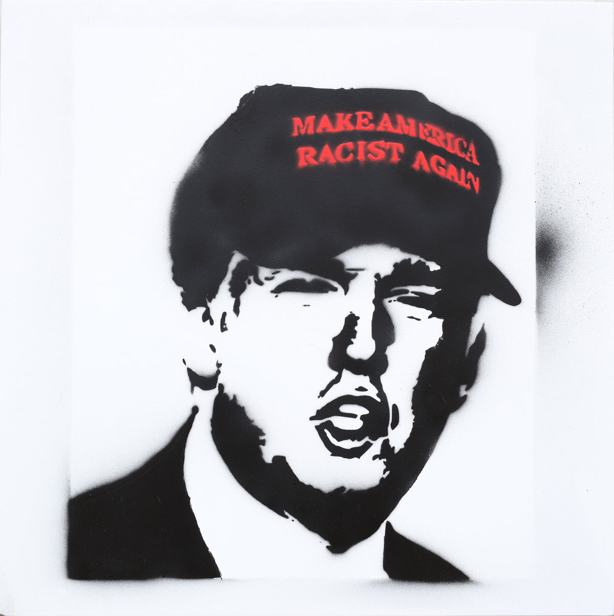 16x16 Original Artwork Make America Racist Again