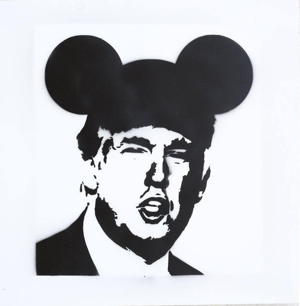16x16 Original Artwork Donald Trump Collection, Operation Mickey Mouse
