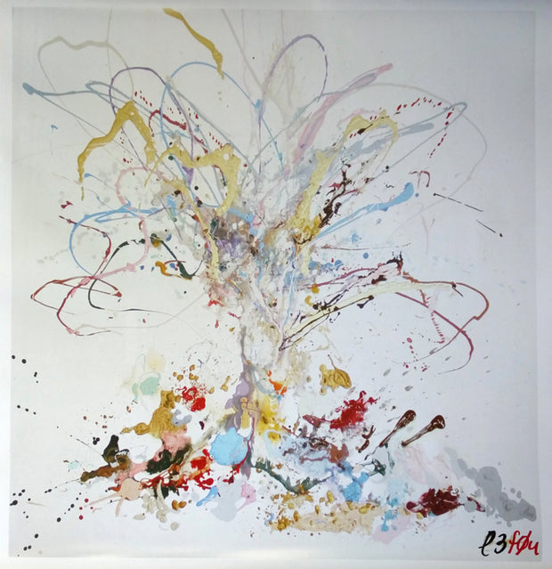 Limited Edition of 150 Print of Tree of Life Signed L3f0u