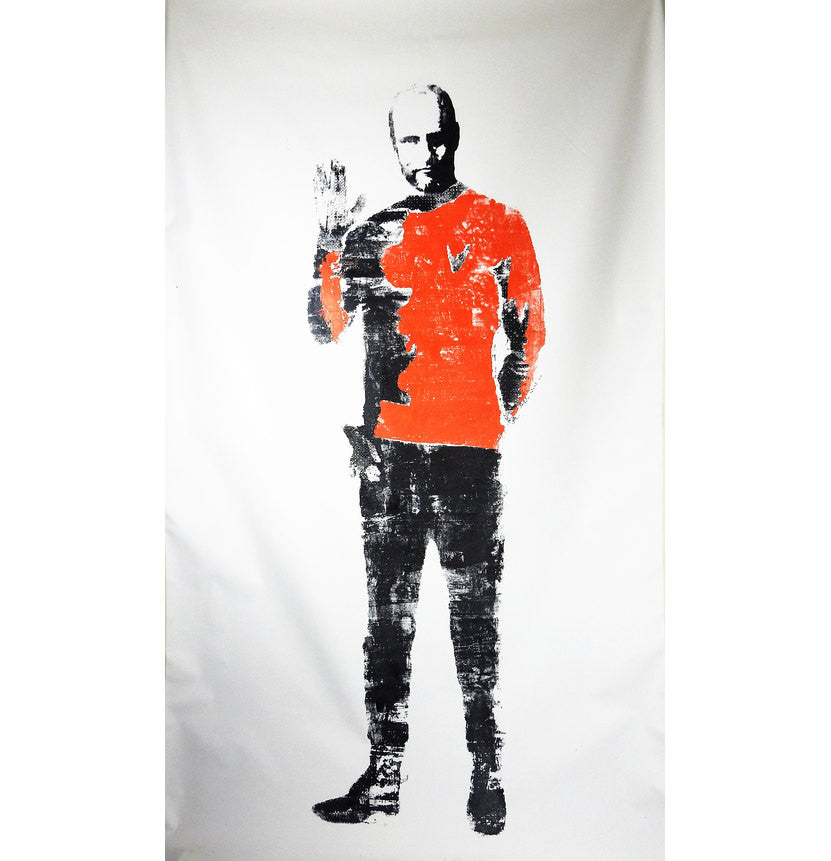 "Star Trek ""V for Vegan"" featuring Woody Harrelson on canvas 56x110 by L3f0u"