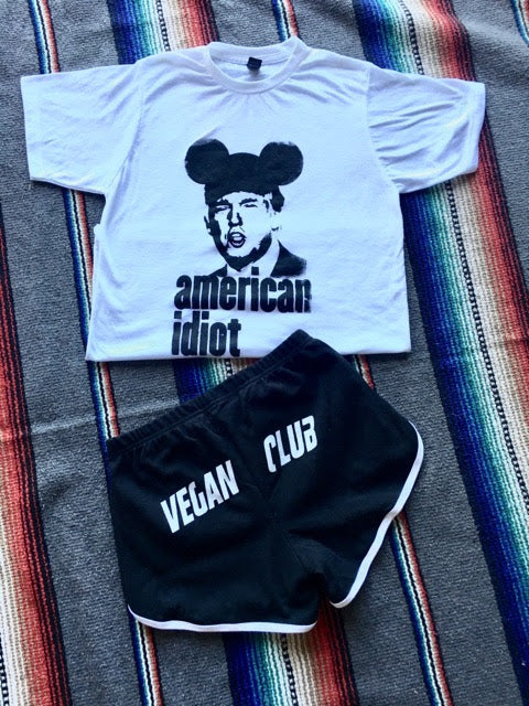 Vegan Club Runner Shorts - SOLD OUT