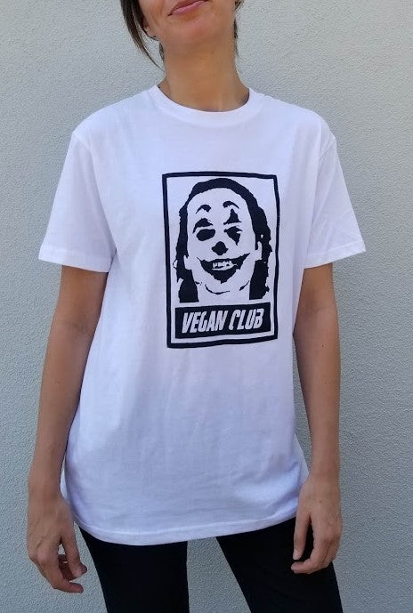 Joker featuring Joaquin Phoenix Vegan Club T-shirt