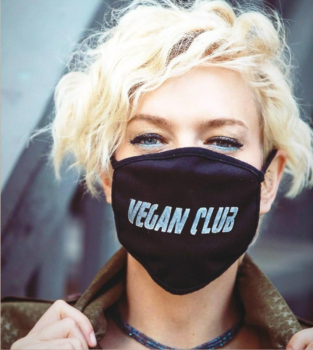 Vegan Club Mask. Fight with a Statement!