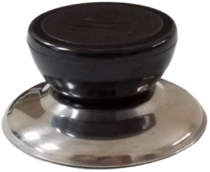 Silver 6098 Horizon Cookware Universal Kitchen Stainless Steel Replacement Pot Lid Cover Knob Handle