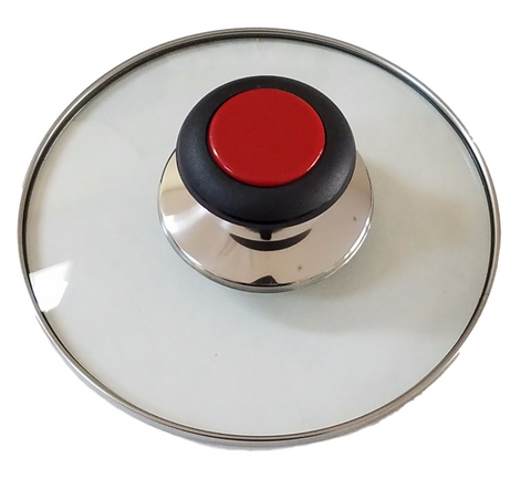 Horizon Cookware Universal Replacement Pot Lid Cover Knob Handle Black//Red