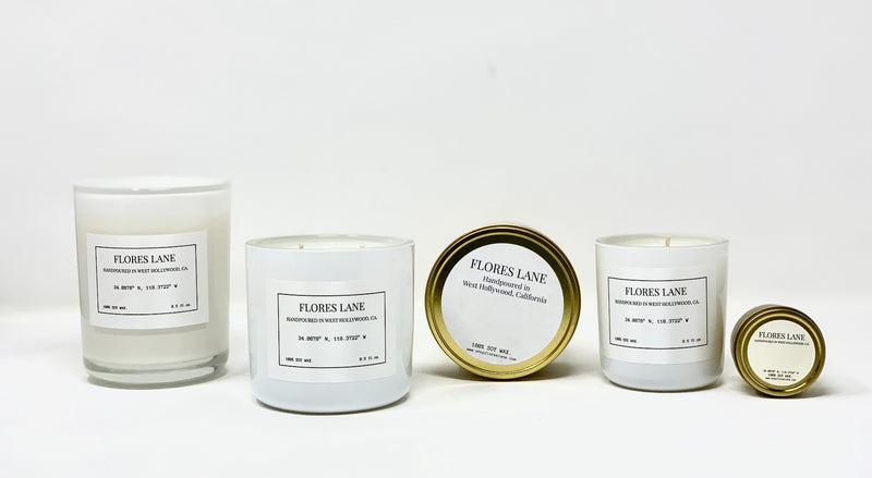 Palos Verdes Soy Candle, Slow Burn Candle