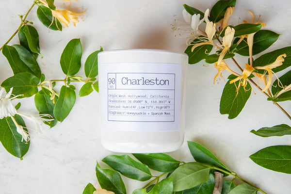 Charleston Soy Candle, Slow Burn Candle