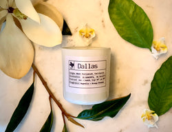 Dallas Soy Candle, Slow Burn Candle