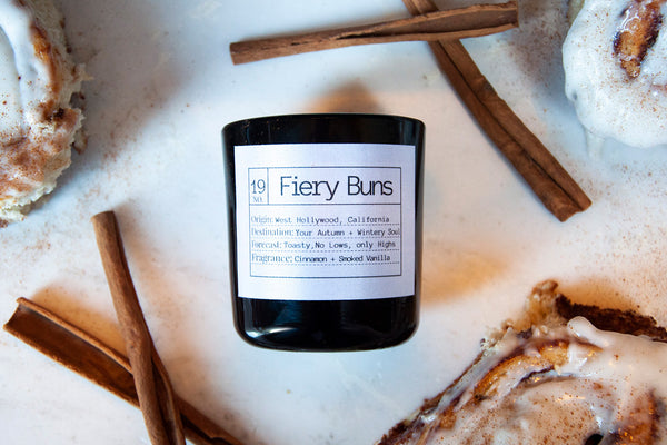 Fiery Buns Soy Candle, Slow Burn Candle
