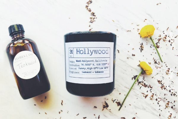 Hollywood Soy Candle, Slow Burn Candle