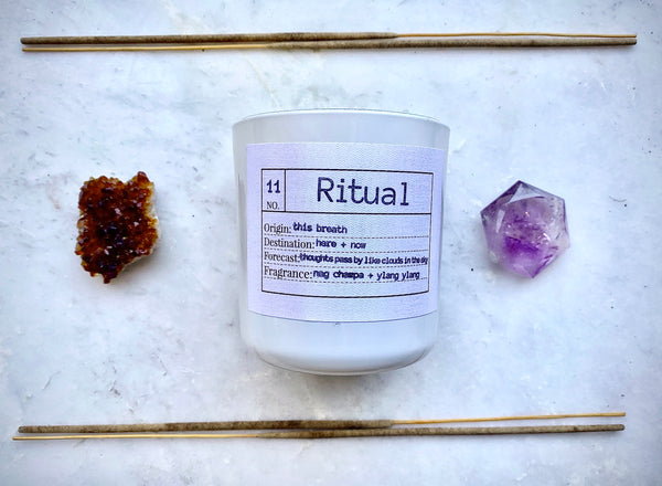 Ritual Soy Candle, Slow Burn Candle