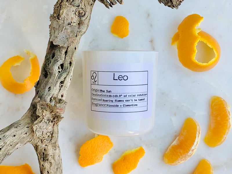 Leo Soy Candle, Slow Burn Candle