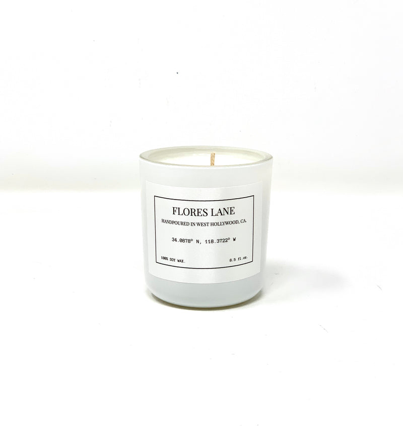 Heart Chakra Soy Candle, Slow Burn Candle