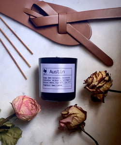 Austin Soy Candle, Slow Burn Candle