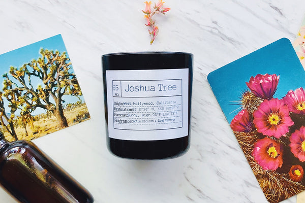 Joshua Tree Soy Candle, Slow Burn Candle