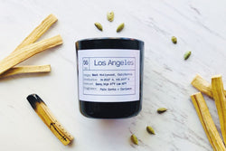 Los Angeles Soy Candle, Slow Burn Candle