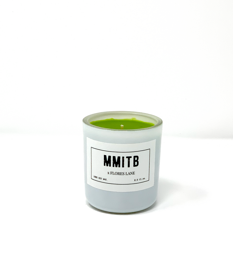 LUNA LOUNGE MMITB x FLORES LANE Soy Candle, Slow Burn Candle