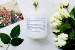 Manhattan Beach Soy Candle, Slow Burn Candle