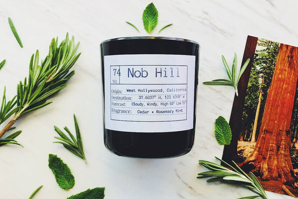 Nob Hill Soy Candle, Slow Burn Candle