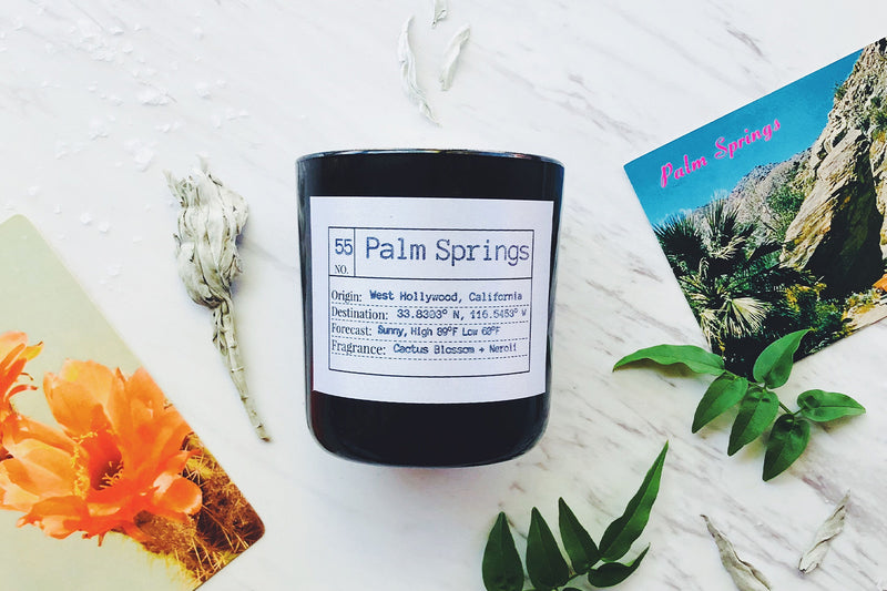 Palm Springs Soy Candle, Slow Burn Candle